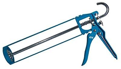 OX Tools 10 oz. Standard Dripless Caulk Gun | 7:1 Thrust Ratio from OX Tools