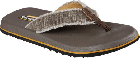 Skechers Men's Tatric Salman Flip Flop Chocolate free shipping collections free shipping visit new best cheap online RSq1Lze