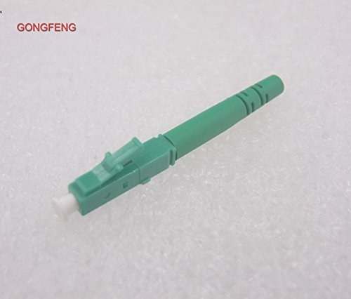 Gimax 200pcs NEW Rapid Optical Fiber Connector Parts LC/APC-0.9 Single Core Single Simplex Quick Connector - (Color: lc UPC 0.9)