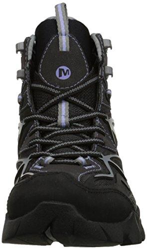 de de CAPRA material Black Grey botas Schwarz GTX MID SPORT negro sintético Merrell mujer senderismo UqwZX00