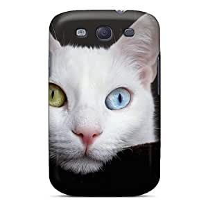 Defender Case With Nice Appearance (amazing Kitten Eyes) For Galaxy S3