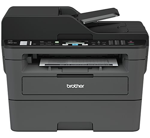 Laser Color Home Copiers (Brother Compact Monochrome Laser All-in-One Multi-function Printer, MFCL2710DW, Duplex Two-sided Printing, Wireless Printing, USB Interface)