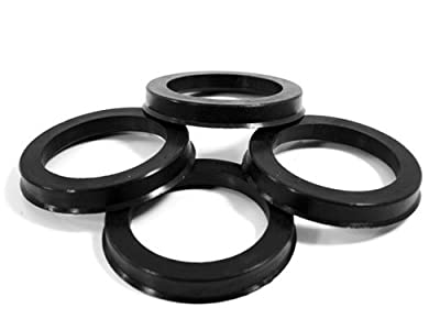 65.10 MM ID x 73.10 MM OD - POLYCARBONATE HUB CENTRIC RINGS - SET OF 4