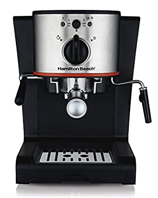 Hamilton Beach 40792 Espresso & Cappuccino Maker, Black from Hamilton Beach