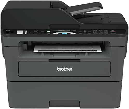 Brother Compact Monochrome Laser All-in-One Multifunction Printer, MFCL2710DW, Duplex Two-sided Printing, Wireless Printing, USB Interface, Amazon Dash Replenishment Enabled