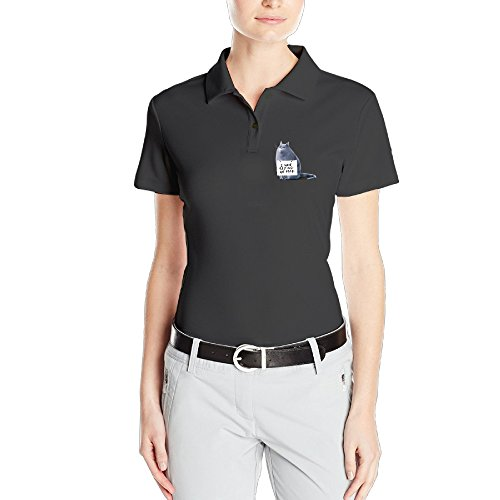 MEGGE Women's The Secret Life Of Pets12 Leisure Dry-Fit Golf Polo Shirts