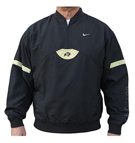 Jacket Wind Pullover College (Colorado Buffaloes College 1/4 Zip Pullover Wind Jacket By Nike Team Sports (Medium))