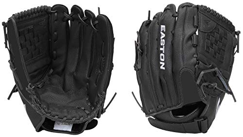 (Easton Black Magic Series Baseball/Softball Leather Fielder's Glove (13