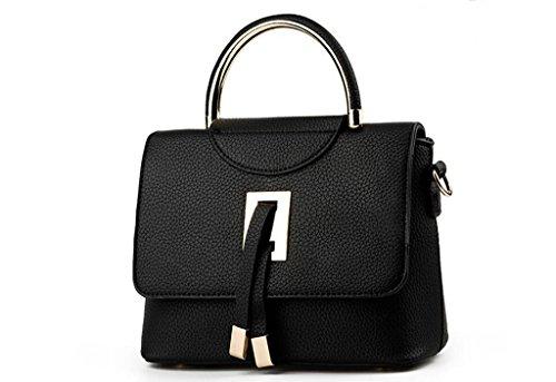 El nuevo bolso, nuevas mujeres europeas y americanas bolsas, bolsos, bolsas black