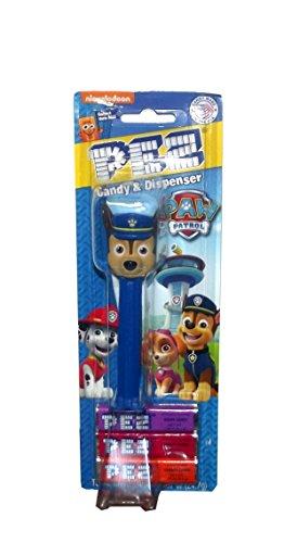 Nickelodeon Paw Patrol Pez Dispenser Blister Pack (Chase)
