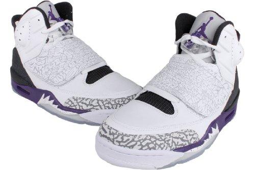 new style ce0c5 3ad63 good Nike Air Jordan Son Of Mars Mens Basketball Shoes White Club Purple -Cool