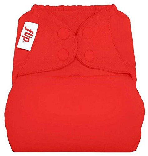 flip Cloth Diaper Cover - Pepper - One Size - Snap