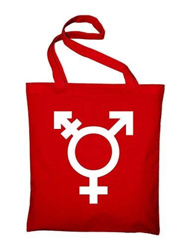 Bag Pocket Yellow Transgender And In Bag Red Cotton Symbol Logo Styletex23bagtransgender8 Gender yellow Jute Fabric gqAwXHq