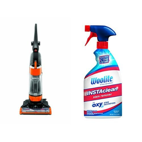 Carpet Stain Remover Bundle - CleanView Vacuum + Woolite InstaClean Stain Remover