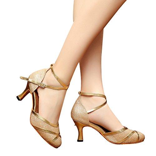 CXS Shoes Pumps Heel 2 Dance Womens Ballroom with 75 r6HfqwrR