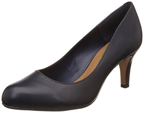 Clarks , Damen Pumps Blau navy leather