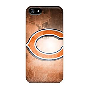 Perfect Hard Phone Case For Iphone 5/5s With Support Your Personal Customized HD Chicago Bears Skin No1cases