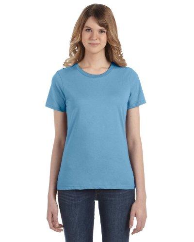 Light Anvil Maglietta Blue 100 Donna Cotone Zn4wfHxq