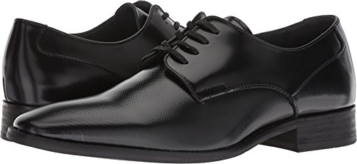 Calvin Klein Men's Ripley Oxford Flat, Black, 10.5 M US
