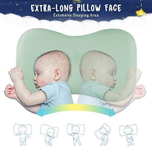 Amazon.com: Evolva Future Technology - Almohada de bebé para ...