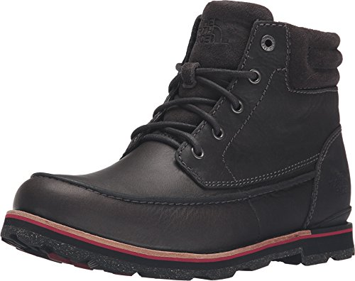 North Face Stone (The North Face Bridgeton Chukka Stonehenge Grey/Rudy Red Men's Lace-up Boots)