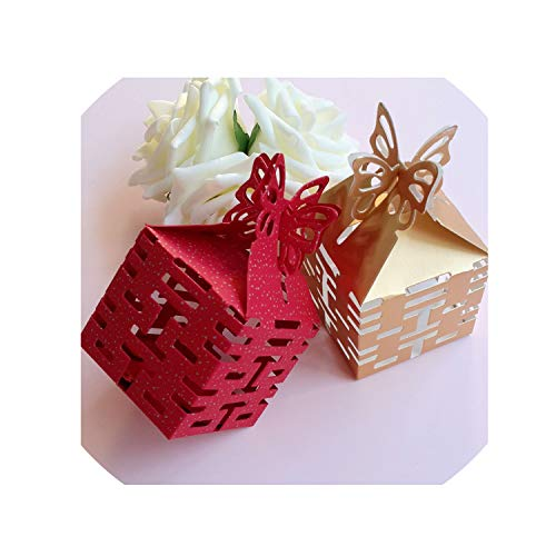 100Pcs Double Happiness Candy Boxes Gift Boxes Wedding Party Favors Box Red/Gold,Gold Double Happiness Gold Cufflinks