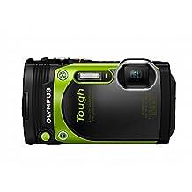 Olympus TG-870 Tough Waterproof Digital Camera, Green