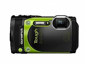 Olympus TG-870 Tough Waterproof Digital Camera (Green)