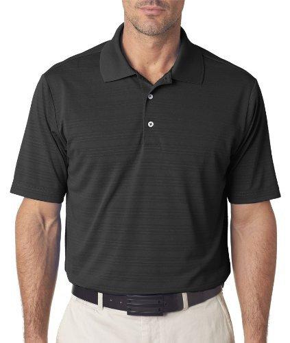 adidas Golf Mens Climalite Textured Short-Sleeve Polo (A161) -Coast -3XL