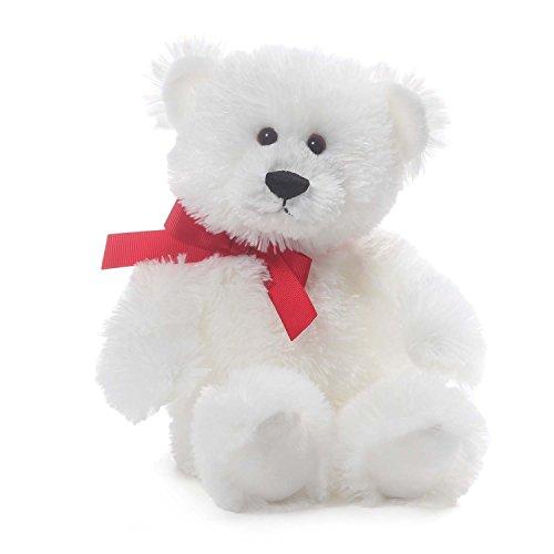 GUND Amor Valentine's Day Teddy Bear Stuffed Animal Plush, White, 10