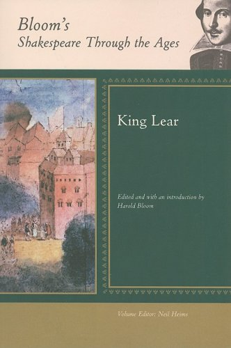 King Lear (Bloom's Shakespeare Through the Ages) by Brand: Checkmark Books