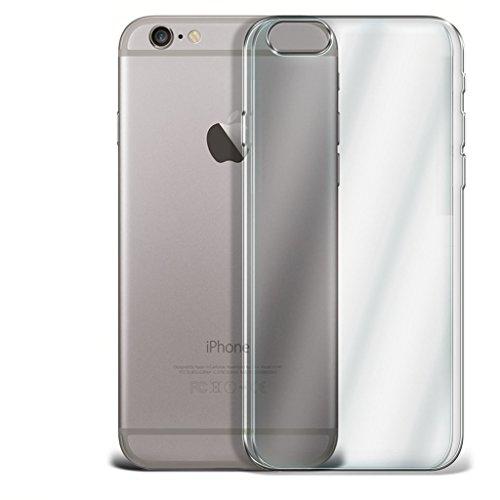 LOLO® Étuis en gel transparent TPU Pour Apple Iphone 6 Plus - de gel souple étui transparent with un verre trempé protège-écran incassable et stylet pour écran tactile