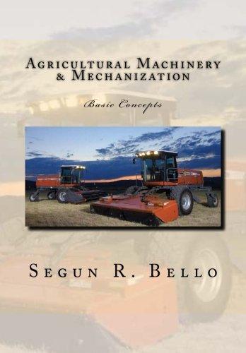 Agricultural Machinery & Mechanization: Mechanization, Machinery, landform, tillage, farm operations