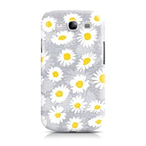 Samsung Galaxy S3 i9300 Floral Collection Daisy Daisy Glossy Image Hard Back 3D printed Case by Call Candy (122-002-868)