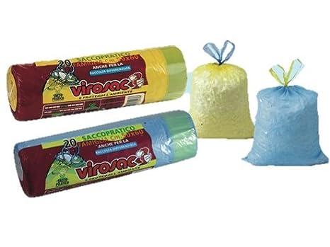 Bolsas de basura de color amarillo-de 70 x 80 cm, diseño con ...
