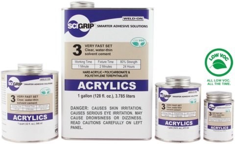 SCIGRIP Weld-On #3 Adhesive AD251AD269AD24AD253