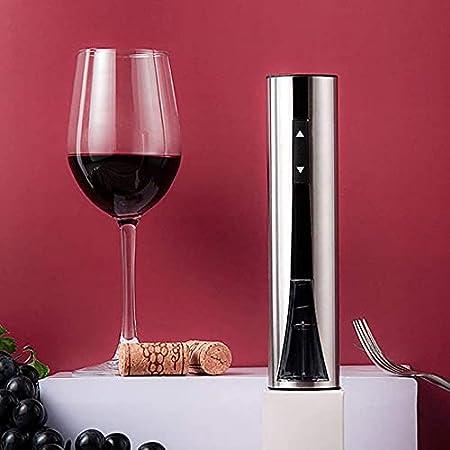 Angelay-Tian Conjunto de abrelatas de Vino electrónico, abridor de Botellas de Vino automático Recargable para el hogar, el Restaurante, la Fiesta y como Regalo