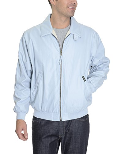Weatherproof XXL Light Blue Microfiber Water Repellent Windbreaker Jacket
