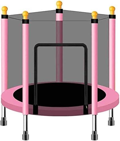 BZLLW Cama elástica, trampolín de Fitness, con Caja Neta de Salto Mat y Primavera Cubierta de Relleno, Juguete de la educación Juguetes y Juegos for bebés niños ( Color : Pink )
