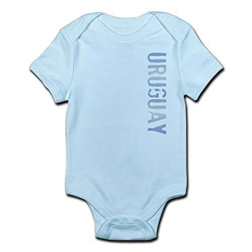 CafePress Uruguay Stamp Infant Bodysuit Cute Infant Bodysuit Baby Romper