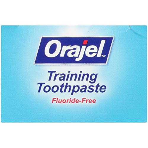 413k85z5ZVL - Orajel Paw Patrol Fluoride-Free Training Toothpaste, Fruity Fun Flavor, One 1.5oz Tube: Orajel #1 Pediatrician Recommended Brand For Kids Non-Fluoride Toothpaste