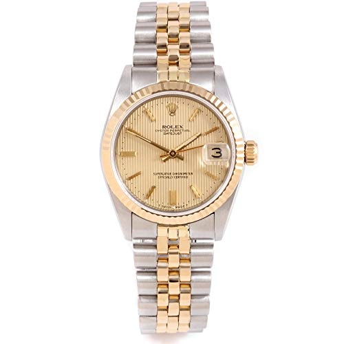 Rolex 68273 Ladies 31mm Datejust Model - Champagne Dial - Jubilee Band (Certified Pre-Owned)