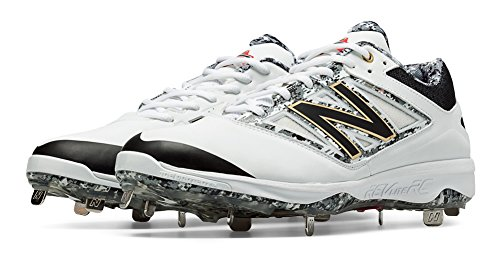 New Balance Men's L4040v3 Low Metal Baseball Cleats