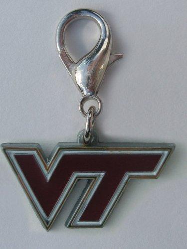 NCAA Licensed Virginia Tech Hokies Collar Charm