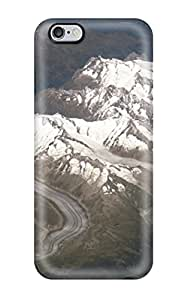 TYH - ipod Touch4 Hard Back With Bumper Silicone Gel Tpu Case Cover From Space phone case