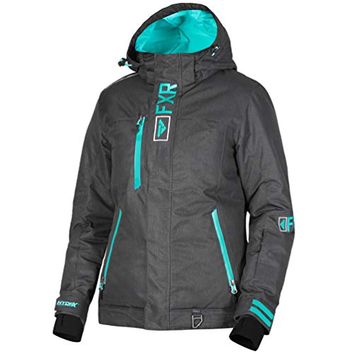 fa404e6e FXR Womens Pulse Jacket (Black Linen/Mint, Size 8) for sale Delivered