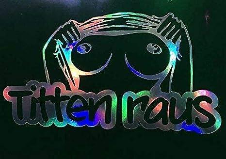 Dub Spencer Crew Sticker Auto Porno Hologram Heckscheiben Aufkleber stance DUB