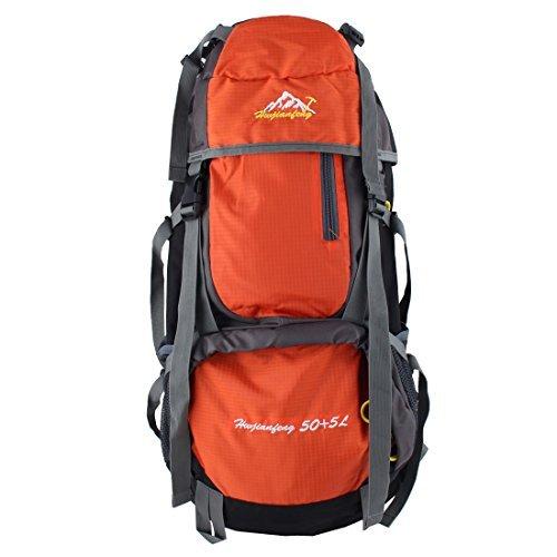EDealMax HWJIANFENG autorizzato rampicante esterno Trekking a Cavallo, pacchetto Water Resistant, Sport Bag Zaino Trekking 55L