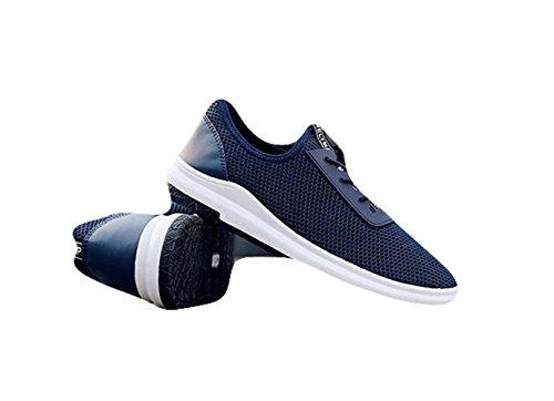 Segeltuch Sneaker Bißchen Schuhe Herren blau Mode Casual B Ein Cool Freizetschuhe Ptw1q6w