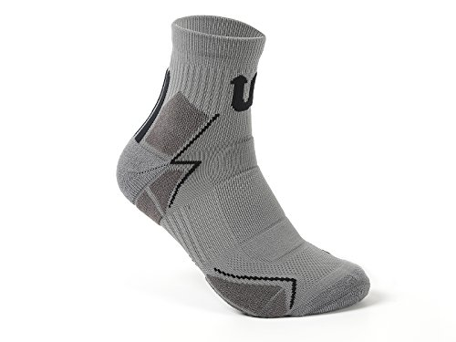 Basketball Softball baseball Athletic player cushioned crew socks with patented ankle support and heel protection design high stretch ability unisex free size Sports socks for athletes - Socks On Dc Sale
